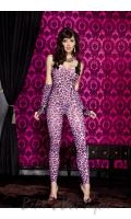 Leopard Print Bodystocking  ML-1123