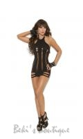 Pothole Mini Dress  EM-8909