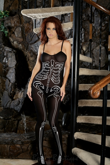 Skeleton Bodystocking  EM-1660