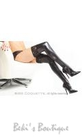 Wet Look Thigh High Stockings  COQ-D1729