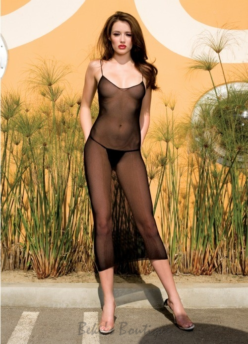 Seamless Fishnet Dress  ML-3901