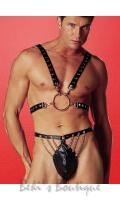 Leather Half Harness  AL-29-102