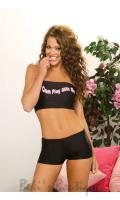 Nylon Lycra Hot Pants  EM-6935