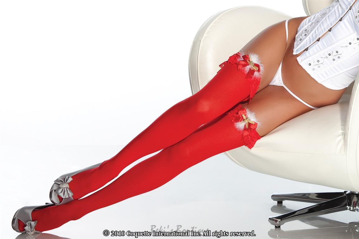 Stockings w/ Jingle Bells  COQ-1755