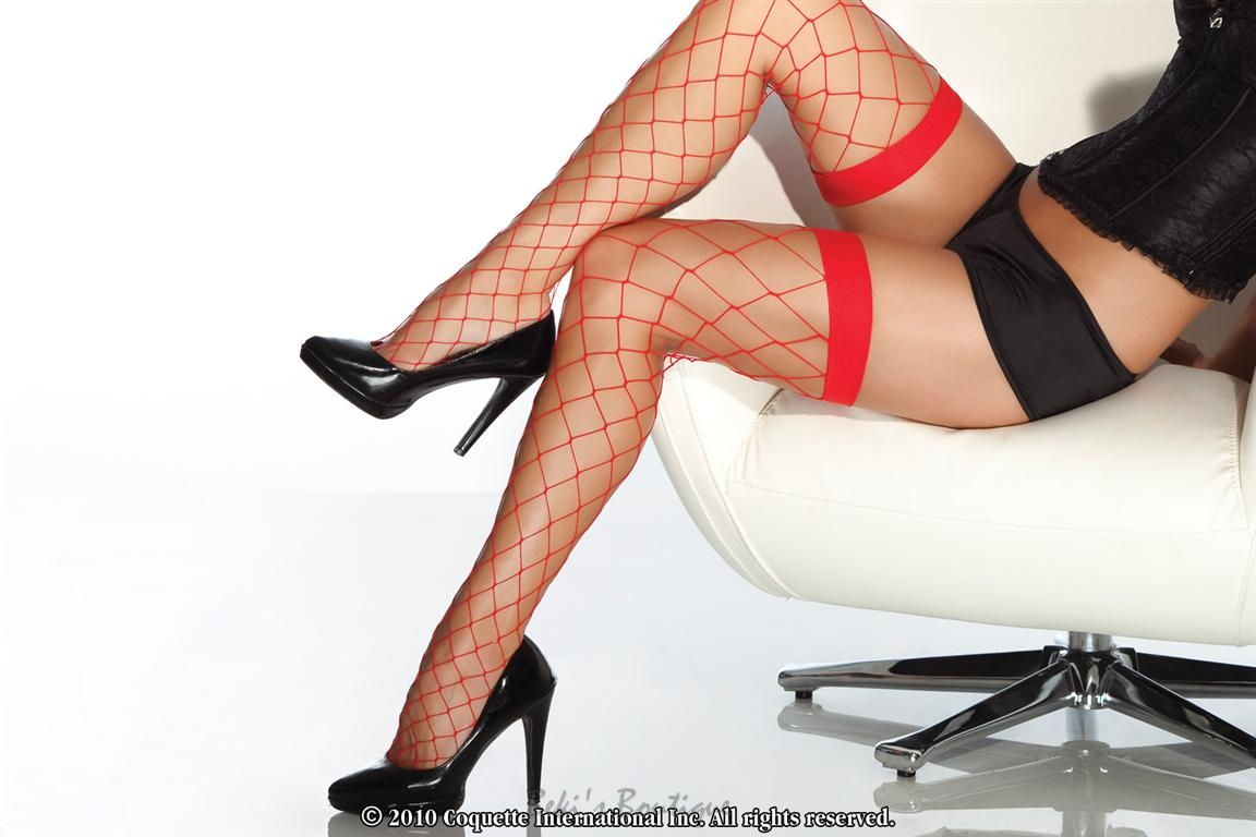 Fence Net Stockings  COQ-1769