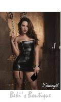 Faux Leather Spanking Dress  DG-10160